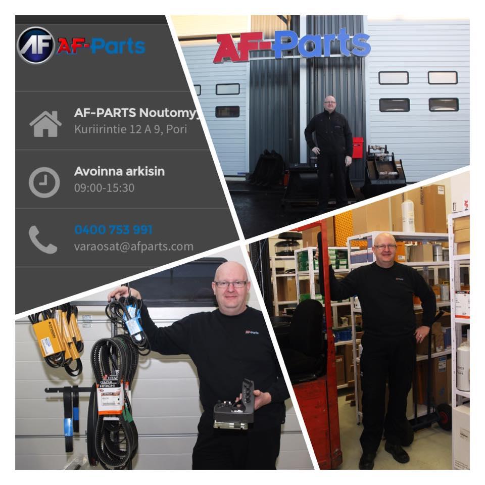 AF-Parts sivusto on viimein netissä
